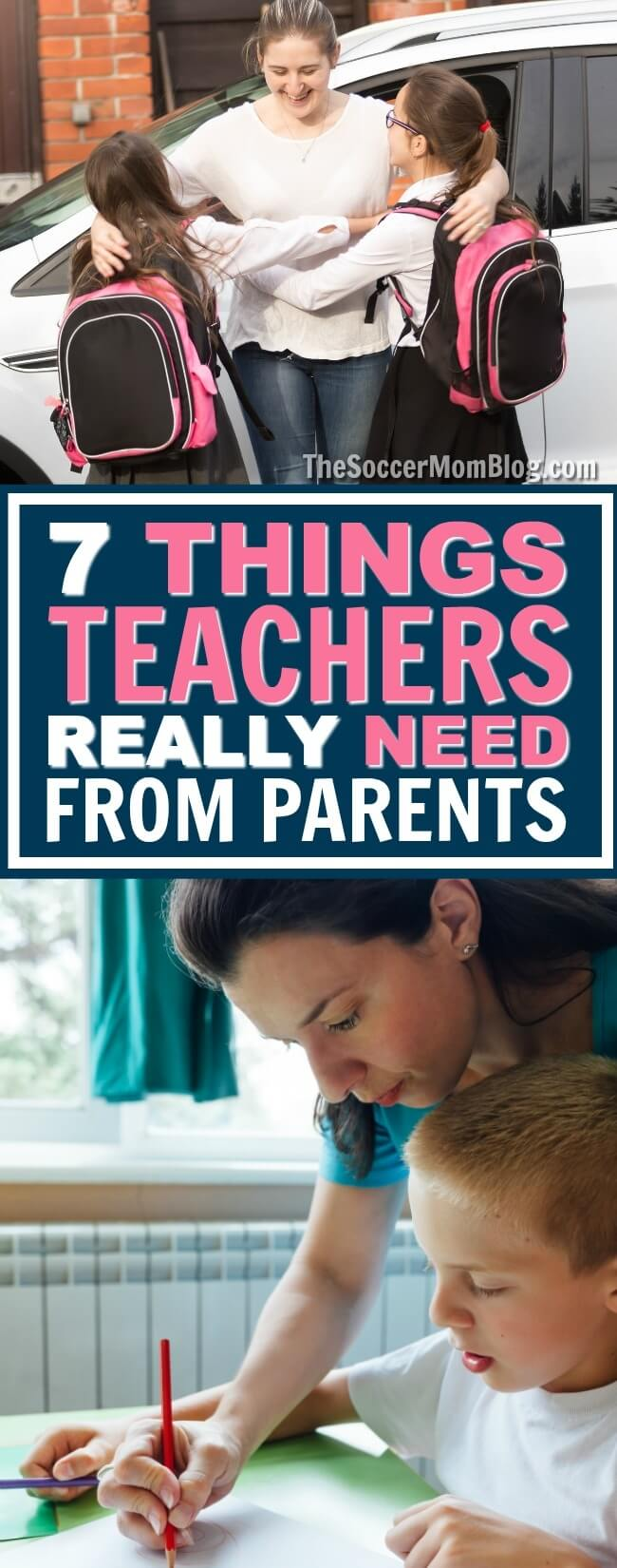 The average educator spends $500 of their own money every year. 7 things teachers need (in their own words) from parents to make the school year a success.
