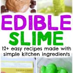Safe Edible Slime Recipes Made with Simple Kitchen Ingredients