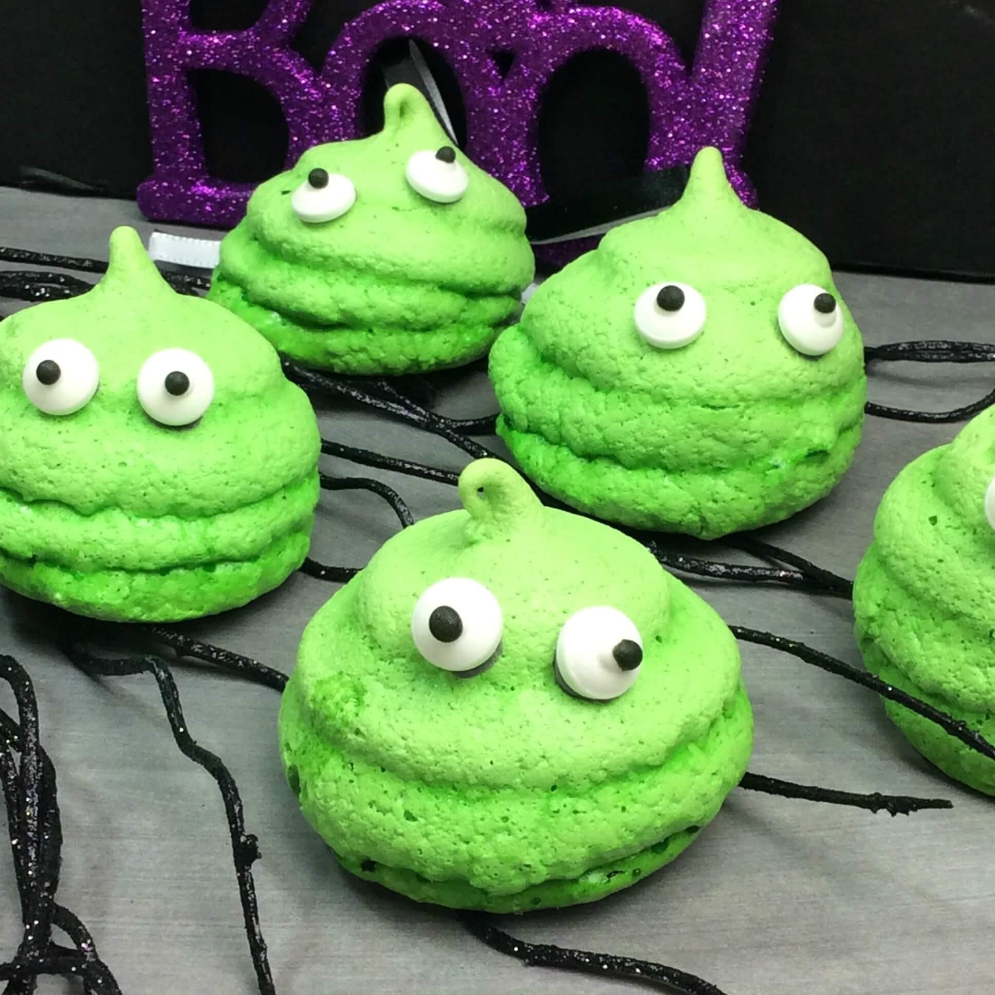 Spooky Slime Cookies