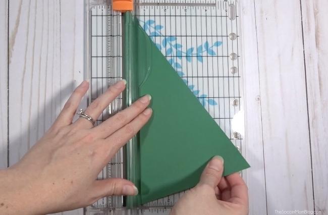 How to make a Christmas Tree Photo Card