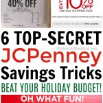 """6 """"Secret"""" Ways to Save Money at JCPenney on Gifts for the Whole Family"""