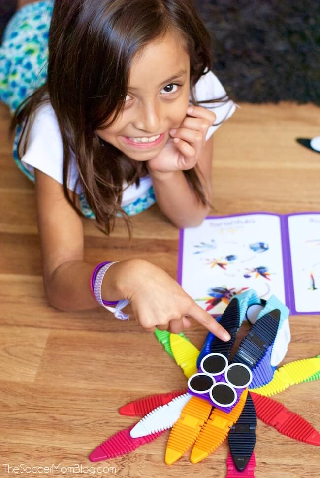 We've found the perfect toy for kids of all ages - and it covers all the bases! From engineering, math, art, and more - you really can do it all with MagnaFlex!