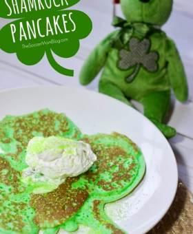Shamrock Pancakes – St. Patrick's Day Breakfast for Kids (VIDEO)