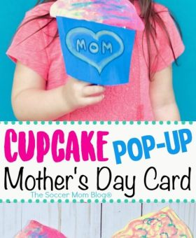 Cupcake Pop-Up Mother's Day Card (VIDEO)