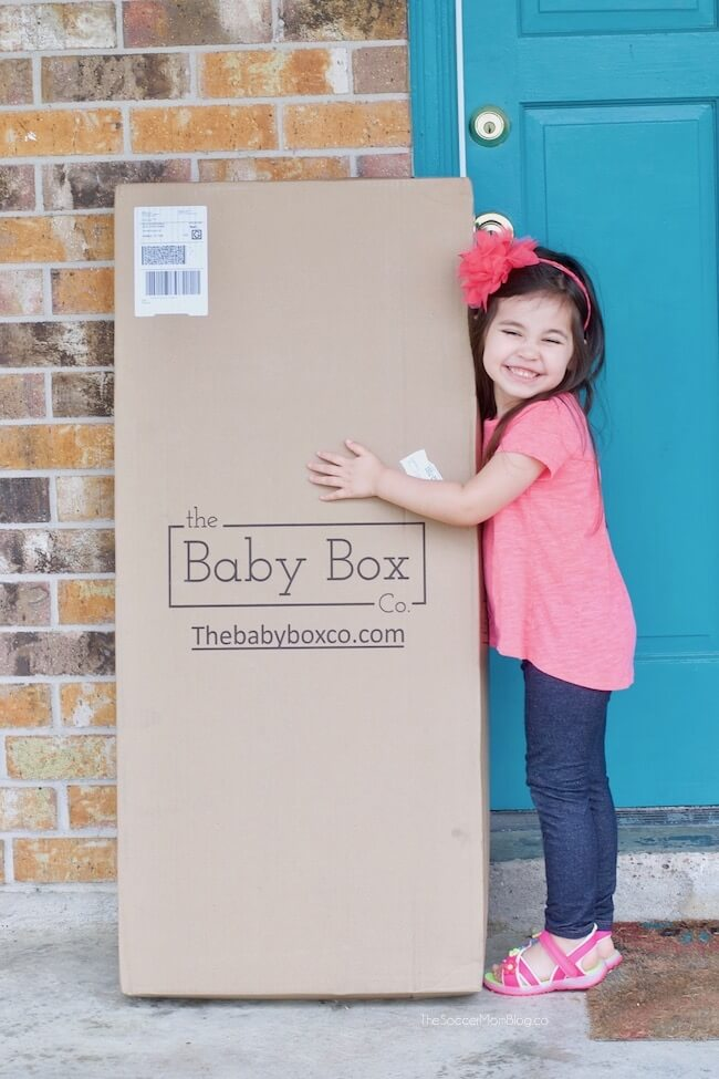 How to get a free baby box delivered to your door
