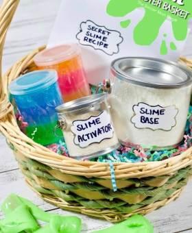 Slime Easter Basket for Kids