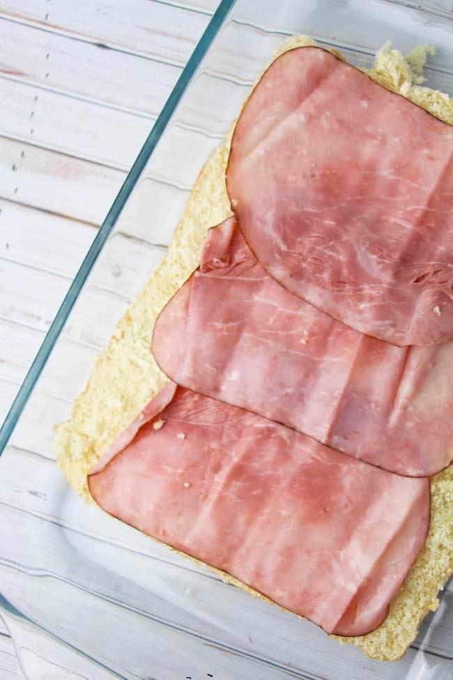 How to make ham & egg sliders