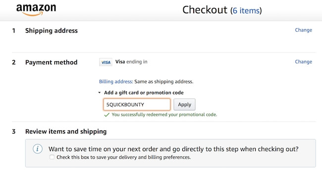 Bounty paper towel coupon code on Amazon