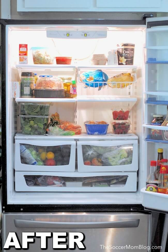 How to clean your fridge in 30 minutes or less