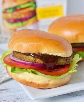 Cuban BBQ Veggie Burgers
