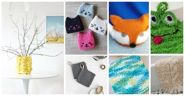 22 Ridiculously Cute Knitting Projects for Your Kitchen & Bath