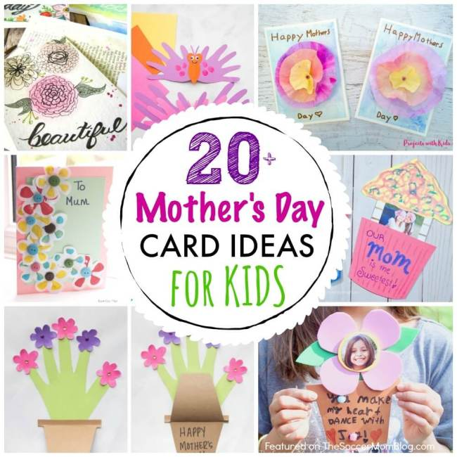 cupcake popup mother's day card video  the soccer mom blog