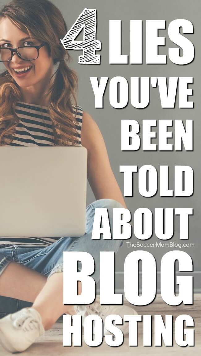"""It seems like everyone is a blogging """"expert"""" these days, but some of the information being spread is just plain wrong! Here's what you really need to know about choosing a blog host (from a 6-figure blogger)."""