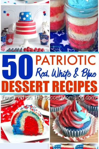 50 Absolutely Stunning Red White & Blue Desserts