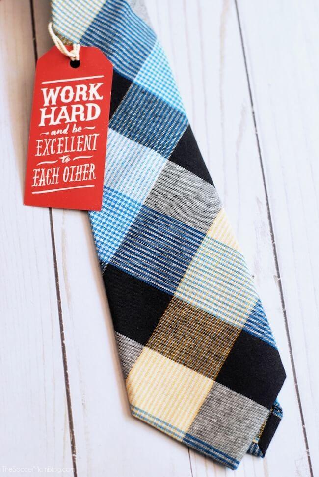 blue plaid tie from Ties.com