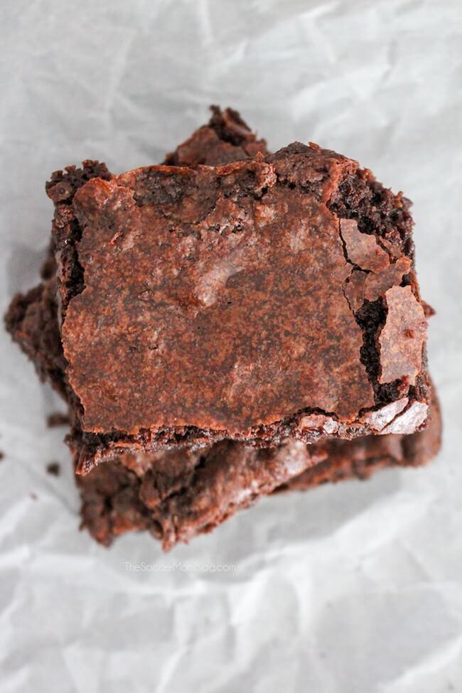Classic fudge brownie recipe. It's the best!