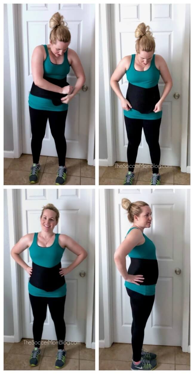 How to use a postpartum belly wrap for weight loss