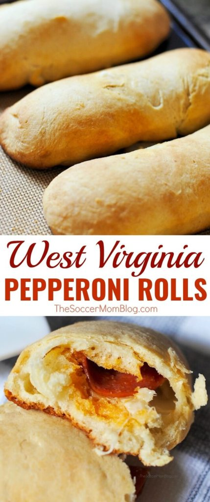 West Virginia Pepperoni Rolls are warm, flaky, and stuffed with spicy pepperoni and cheese. You've got to try them to see why they're famous here!