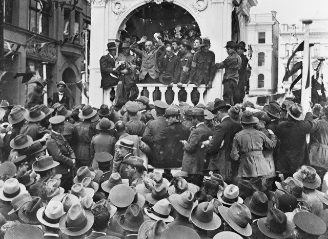 WW1 and the fight against conscription in Australia