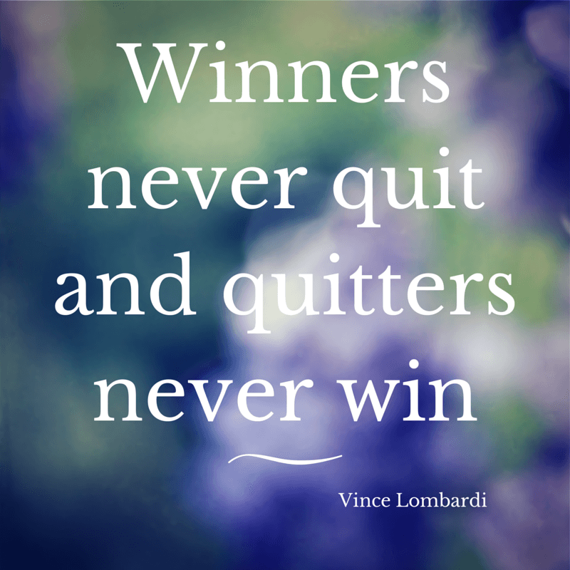 Monday Inspiration Vince Lombardi Quote