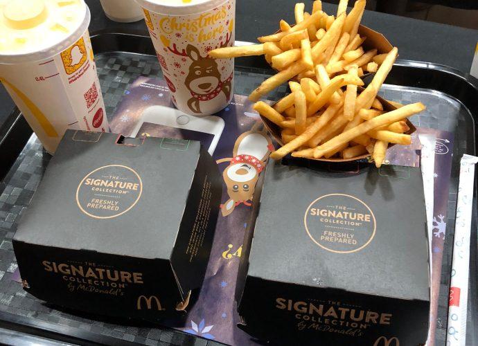 McDonalds Signature Meal Deal | The Social Media Virgin | Mature Lifestyle Blog