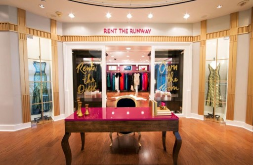 rent the runway at henrid bendel