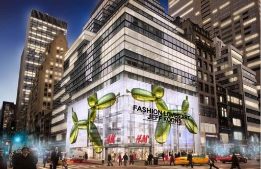 When Fashion Loves Art- H&M Opens Museum Inspired Store On Fifth Avenue