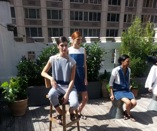 Ann Yee Unveils Her Spring/Summer 2015 Collection During NYFW