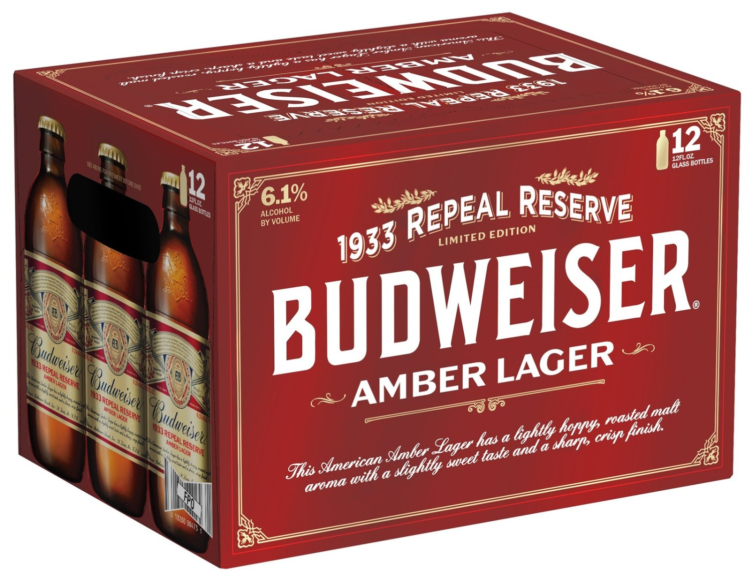 A New Limited Edition Amber Lager Is Released In Honor Of Prohibition's Repeal