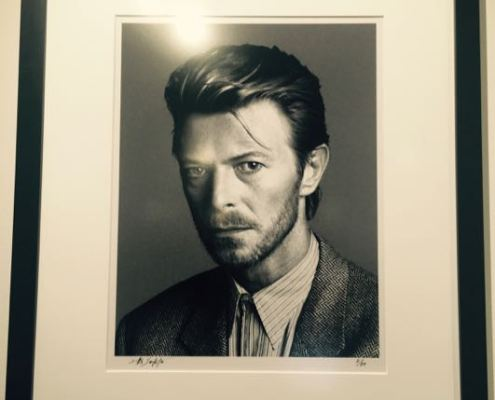 BOWIE The Photographs Arrives At The Morrison Hotel Gallery