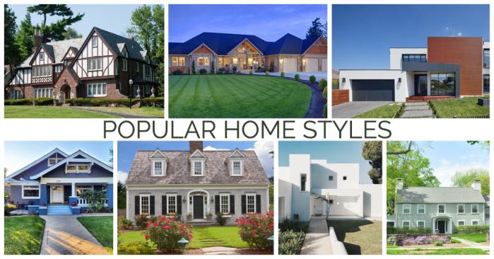 popular home styles