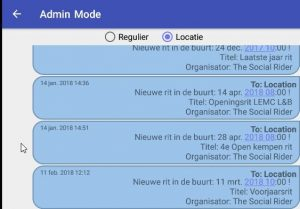 Locatie notificaties