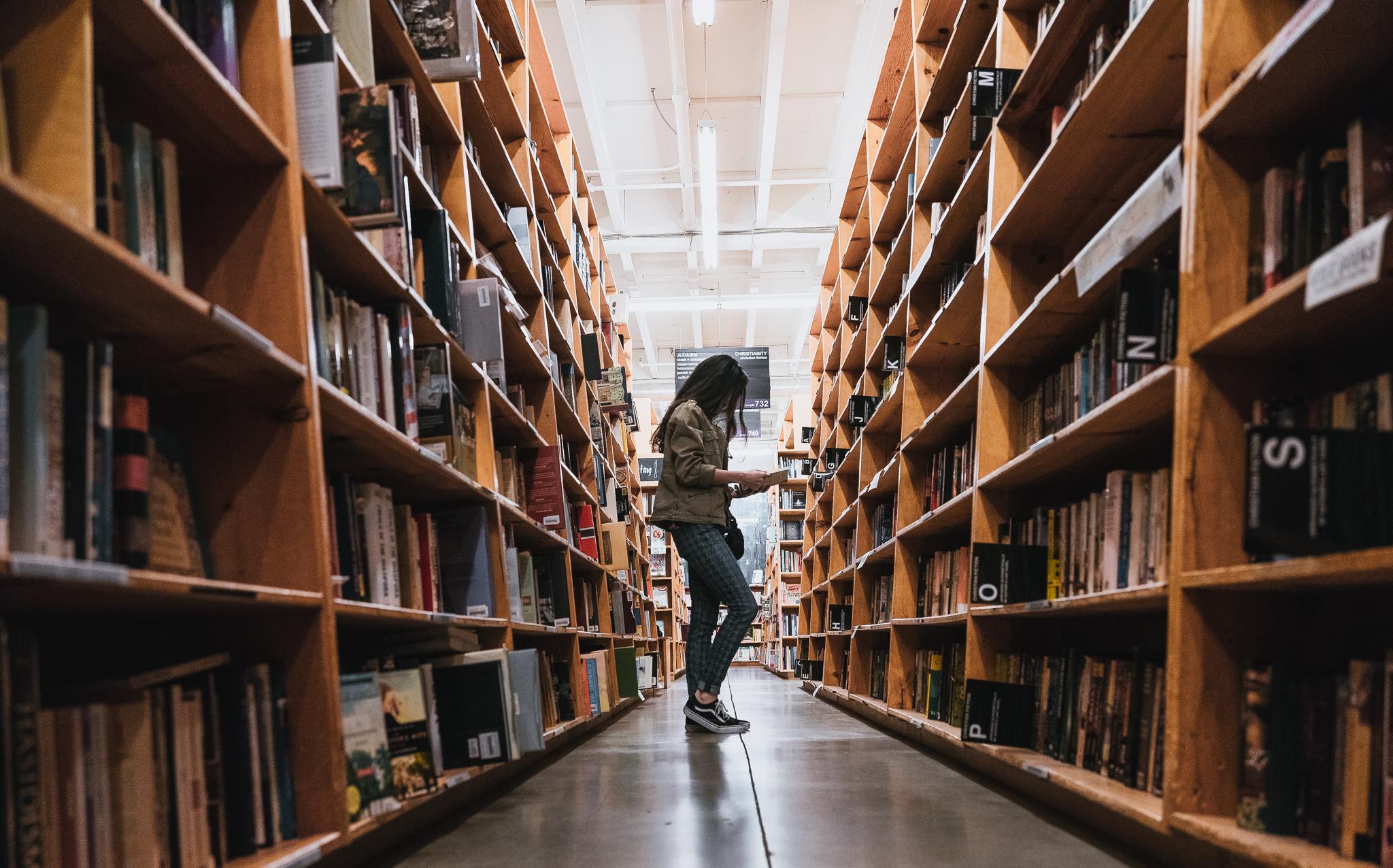 Powell's Bookstore Portland