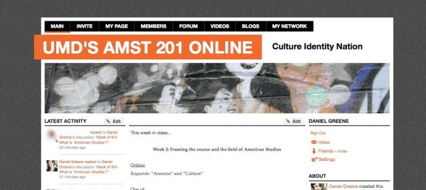 AMST 201 landing page