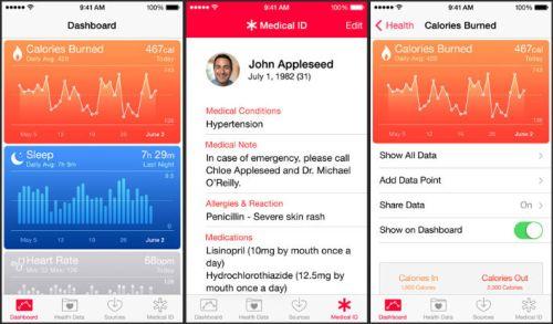 iOS8-Healt-App