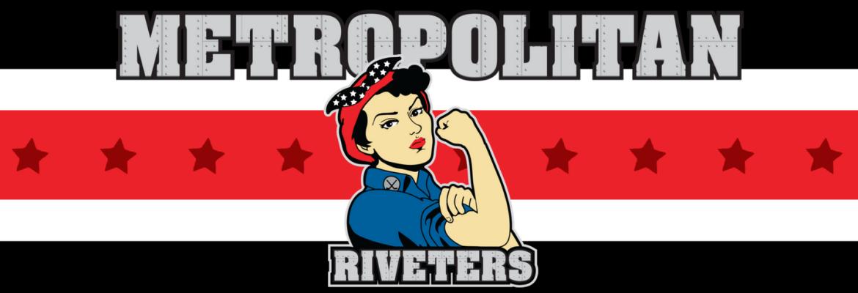 Image result for metropolitan riveters logo