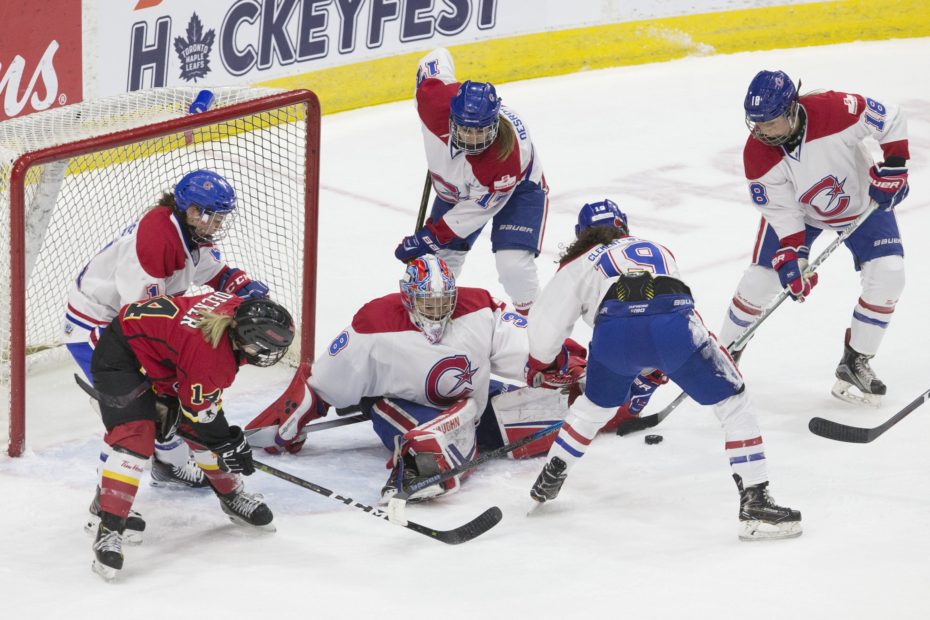 North American Women S Ice Hockey Players Struggle For A League Of