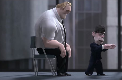 Parr and Boss - Incredibles