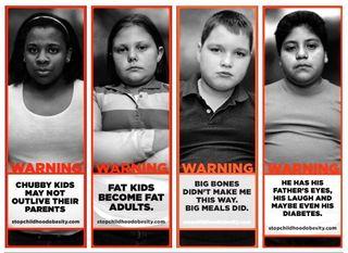 Fat kids are BAAAAD