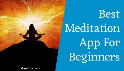 best meditation app for beginners