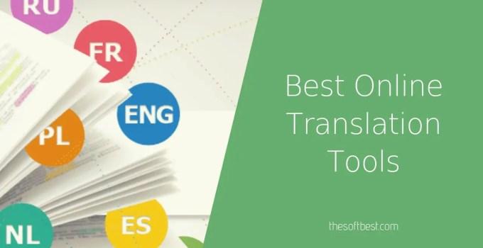 Best Online Translation Tools