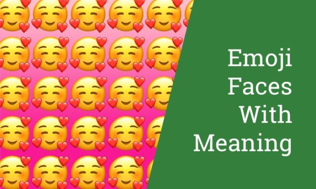 Emoji Faces With Meaning