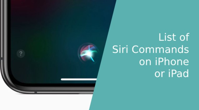 List of Siri Commands