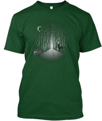Sojo Tshirt Green front