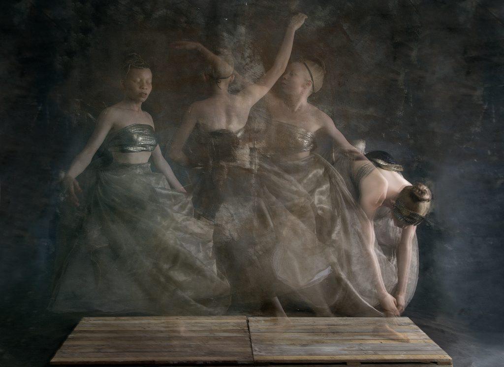 Yetunde Ayeni-Babaeko, Swinging Through Life (2019), Photographic Print on Canvas, 24x36 inches.