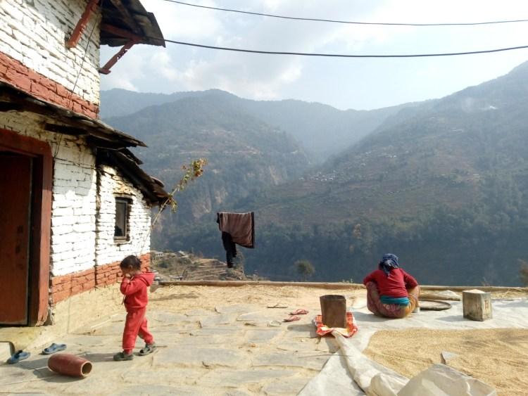 himalayan village