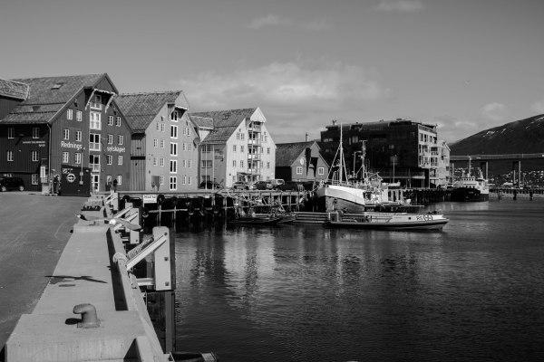 Tromso harbor