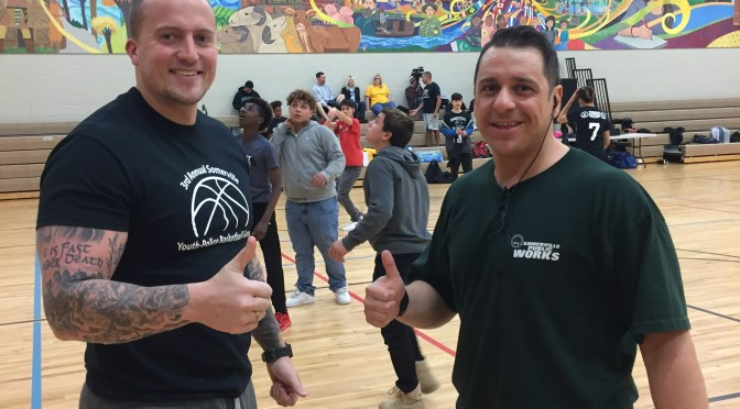 Annual Somerville Police Teen Empowerment Basketball Game at ESCS