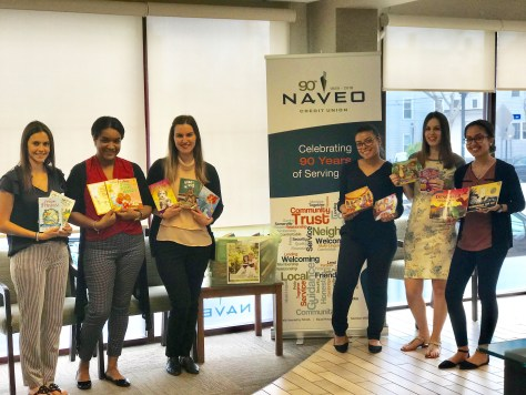 Naveo Credit Union Collects Over 200 Books To Benefit Local Non