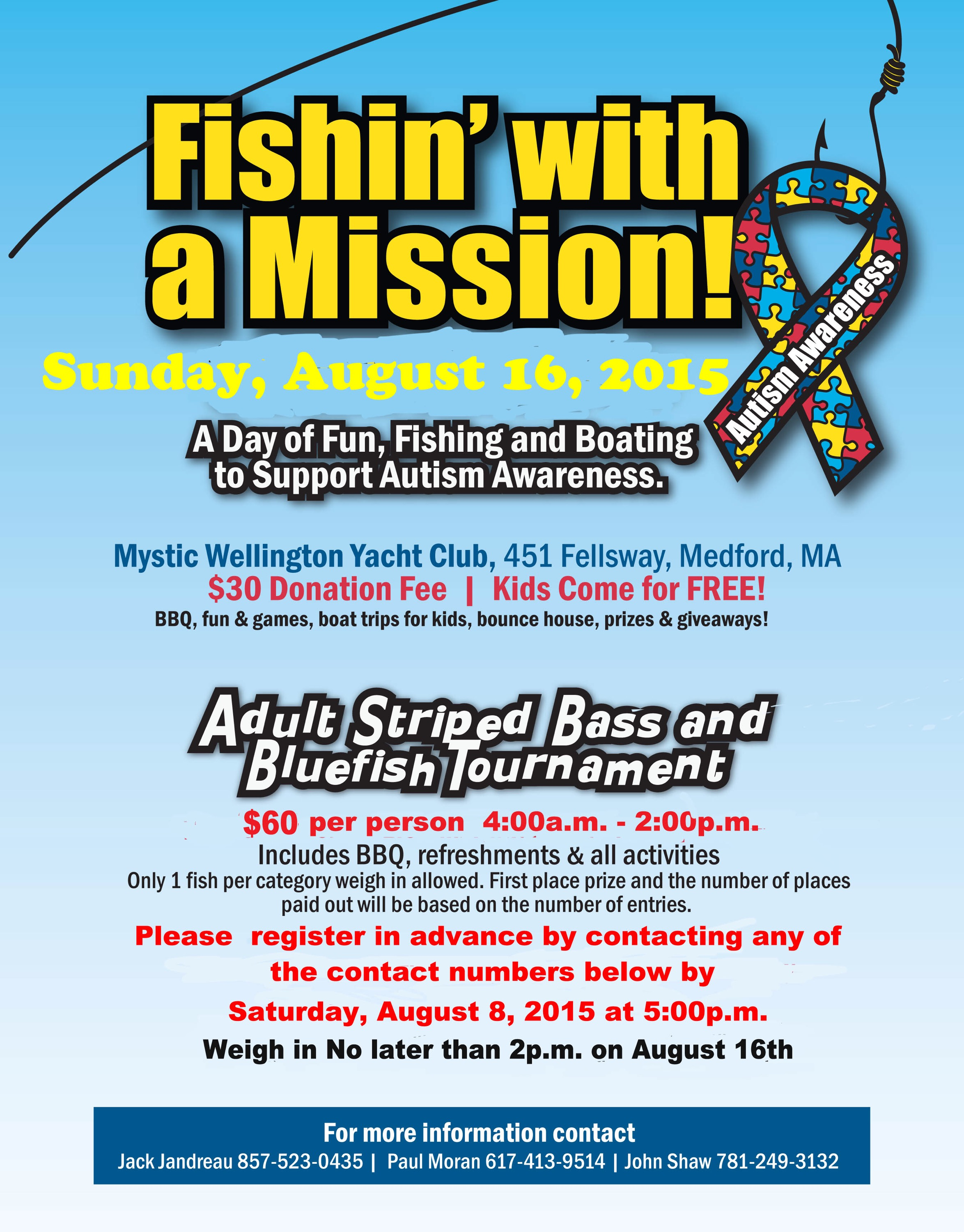 MWYC Fishin With A Mission Event The Somerville News